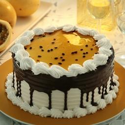 Imagem de Torta chocolate com maracuja