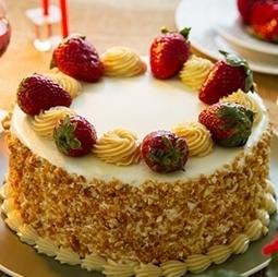 Imagem de Torta morango crocante